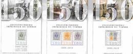 Belg. 2019 - COB N° BL 273 - 274 - 275 ** Les 150 Ans De L'imprimerie Du Timbre  (timbres 4842 à 4846) - Belgium