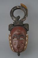 Baule Dance Face Mask, Côte D'Ivoire / Ivory Coast, Baule Tribe - Afrikanische Kunst
