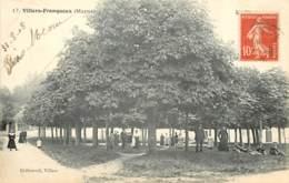 51 - VILLERS-FRANQUEUX - La Place En 1908 - Other Municipalities
