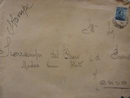 """Grande Busta Viaggiata """"Marchese Scarampi Del Cairo - Torino"""" 1914 - Storia Postale"""