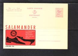 2135 Salamander - Entiers Postaux