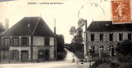 [89] Yonne >PERCY  /LA ROUTE DE BUTTEAUX  / BOULANGERIE - Francia