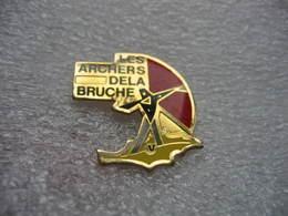 Pin's Des Archers De La Vallée De La BRUCHE (Dépt 67) - Tir à L'Arc