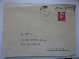 """Busta Viaggiata """"Avv. Manuel Gismondi Vice Prefetto Di Imperia C.L.N.A.I.Comitato Di Liberazione Nazionale Alta Italia"""" - 5. 1944-46 Luogotenenza & Umberto II"""