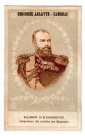 Chromo Imp. Courbe Rouzet 1-4-2, Famille Royale En Russie, Chicorée Arlatte, Cambrai - Other