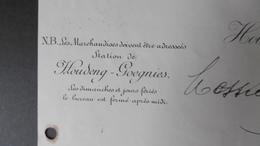 Brasserie BOËL Freres &soeur Houdeng Aimeries 25-09-1901 Signé Boêl - Belgique
