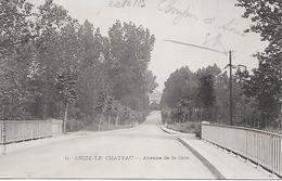 ANIZY Le CHÂTEAU ( 02 ) - Avenue De La Gare - Frankrijk