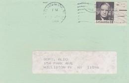 STORIA POSTALE - STATI UNITI - NEW YORK VIAGGIATA PER WILLISTON PK NY - Stati Uniti