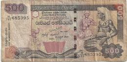 Sri Lanka 500 Rupees 2005-11-19 - Sri Lanka
