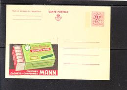 2305 Cachet Mann - Entiers Postaux