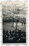 Syria Damas Damascus Public Execution 1948 Postcard Hanging Postcard - Syrie