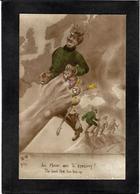 CPA Anti KAISER Germany Satirique Caricature Non Circulé Autriche Turquie Maps - Guerre 1914-18