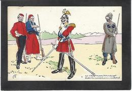 CPA Anti KAISER Germany Satirique Caricature Non Circulé Russie - Guerre 1914-18