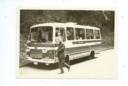 Photo 10 Cm / 8 Cm Autocar Autobus - Autres