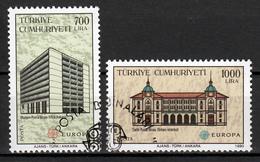 Turkije  Europa Cept 1990 Gestempeld Fine Used - Europa-CEPT