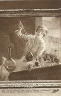 """4188 """"SALON DE PARIS 1914-NICOLL-POUR LA SCIENZE""""CARTOLINA POSTALE ORIGINALE NON SPEDITA - Pittura & Quadri"""