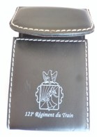 DISTRIBUTEUR DE CARTES DE VISITE INSIGNE 121° REGIMENT DU TRAIN - Army & War