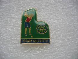 Pin's Du Rotary Golf De VITTEL - Golf