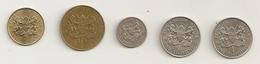 Kenya 5c To 1 Shilling - Kenya
