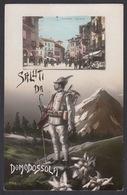 Italia  -   Saluti Da DOMODOSSOLA -  Foto Cartolina. - Verbania