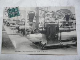 CPA 70 HAUTE SAONE - RONCHAMP : Siège Arthur De Buyer - Salle Des Machines - Autres Communes