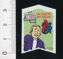 Magnet Le Gaulois 77/78 (Les Découvreurs) La Greffe Du Coeur 01-mag1 - Magnets