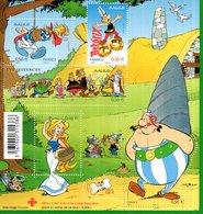 France.bloc No F4225 De 2009.50 Ans D'asterix.n**. - Sheetlets