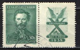 CECOSLOVACCHIA - 1938 - JINDRICH FUGNER - USATO - Oblitérés