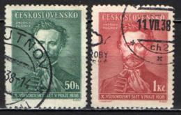 CECOSLOVACCHIA - 1938 - JINDRICH FUGNER - USATI - Oblitérés