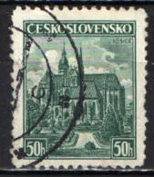 CECOSLOVACCHIA - 1938 - CATTEDRALE DI KOSICE - USATO - Oblitérés