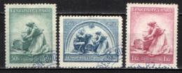 CECOSLOVACCHIA - 1937 - MADRE CON BAMBINO - USATI - Oblitérés