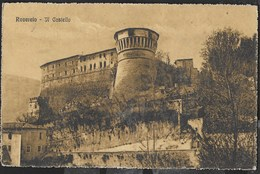 ROVERETO - IL CASTELLO - FORMATO PICCOLO - EDIZ. MELOTTI - VIAGGIATA ANNI 20 - Castles