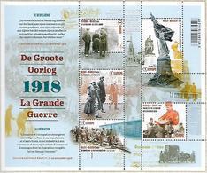 Belg. 2018 - COB N° BL 268 ** - La Grande Guerre : La Libération (timbres 4815 à 4819) - Belgium