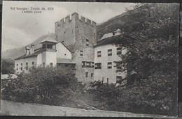 IL CASTELLO - LACES . VAL VENOSTA - EDIZ. FRANZL BOLZANO - FORMATO PICCOLO - VIAGGIATA DA LACES  ANNI '30 - Castelli