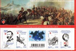 France.bloc Croix Rouge F4386 De 2009.n**. - Sheetlets