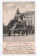 - CPA PARIS (75) - Monument De Victor Hugo 1902 (belle Animation Avec IMAGERIE POUSSIGUE) - N° 2228 - - Frankrijk