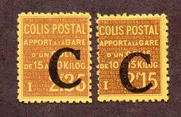 France Colis N°110,111 N* TB Cote 62 Euros !!! - Neufs