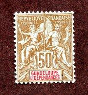 Guadeloupe N°44 N* TB  Cote 55 Euros !!! - Neufs