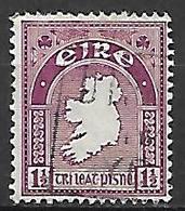 IRLANDE   -   1941 .  Y&T N° 80 Oblitéré. - 1937-1949 Éire
