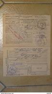 ORDRE  CONVOCATION MILITAIRE SOUS  DRAPEAUX AVEC COUPON POUR LA GARE ( GUERRE), PONT SAINT ESPRIT 1939  …... … T57 - Europe