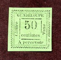 Guadeloupe Taxe N°12 N* TB Cote 40 Euros !!! - Guadeloupe (1884-1947)
