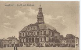 Maastricht - Markt Met Stadhuis - Wed. Jos Van Dinter Van Oppen, Wijk Maastricht - 1922 - Maastricht
