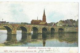 Maastricht - Maasbrug Met Wijk - 10070 Uitg. F. Niesten-Lamberti - 1907 - Maastricht