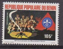 Benin 1982 Scouting Year Boy Scouts Boy Scout Fuoco MNH - Nuovi