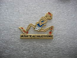 Pin's Du Club ASFT (Association Sportive Fontenay-Trésigny), Section Athlétisme - Athlétisme