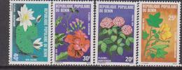 Benin 1982 Fiori Flowers Piante Flora Plants Nature MNH - Flora