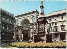 Milano - Monumento A Leonardo Da Vinci (Opera Di Pietro Magni) - Milano