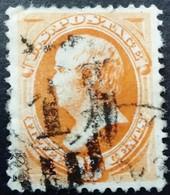 Etats Unis USA 1870 Webster Yvert 57A O Used - Gebraucht