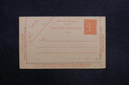 FRANCE - Entier Postal Type Semeuse , Non Circulé - L 31469 - Postal Stamped Stationery