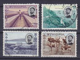 Ethiopia 1965 Mi. 504, 506, 511, 515    5c., 20c., 40c., 1$ Fortschritt - Äthiopien